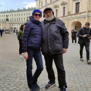 С Дмитрием Шагиным.